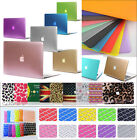 """)(1 Ultra-thin Rubberized Hard Case Shell Cover F Macbook Pro 13/15"""" Air 11/13"""""""