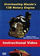 Rotary Engine Rebuild DVD By AtkinsRotary