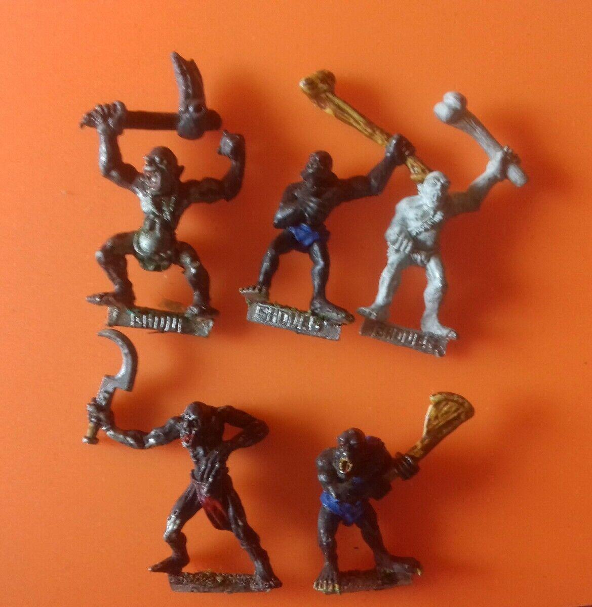 5x Ghoul variants undead citadel GW games workshop classic ghouls WHFB