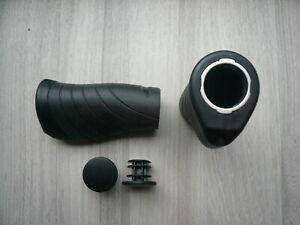 1 Paar Fahrrad Lenkergriffe Schraub-Griff ergonomisch Ergogriffe Ergo Bar Grips