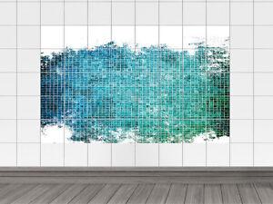 Fliesenaufkleber fliesenbild fliesensticker für badezimmer mosaik