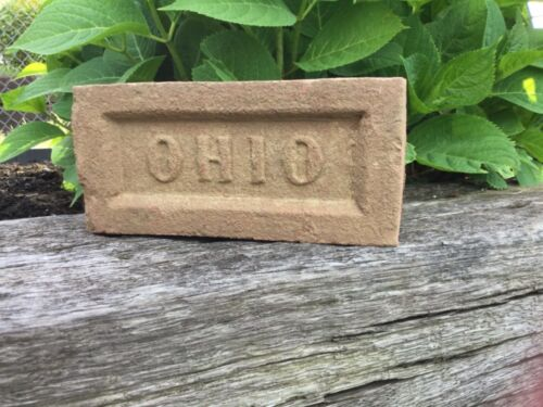 """Vintage /""""OHIO/"""" Paver Brick **Unique Item** Great Gift for a Buckeye Fan"""