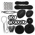 Magic Hair Clip Styling Accessory Maker Tool Pads Sponge Hair Bun Donut Hairpins