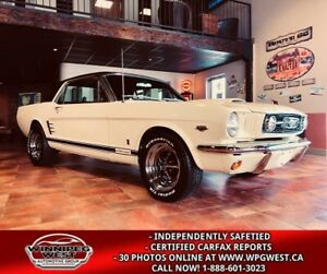 1966 Ford Mustang GT COUPE K-CODE HI-PO 289CI 4-SPEED FULLY RESTORED