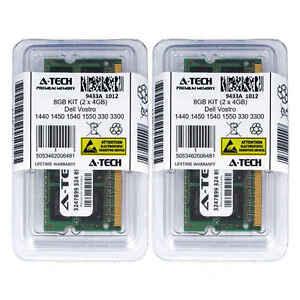 8GB-KIT-2-x-4GB-Dell-Vostro-1440-1450-1540-1550-330-3300-3350-3360-Ram-Memory