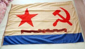 GROSSE-RUSSISCHER-Marine-Flagge-Fahne-Banner-Flag-UdSSR-1982
