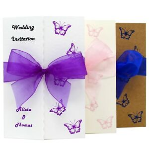 Personalised-Gatefold-Wedding-Day-Evening-Invitations-Butterflies-with-Envelopes