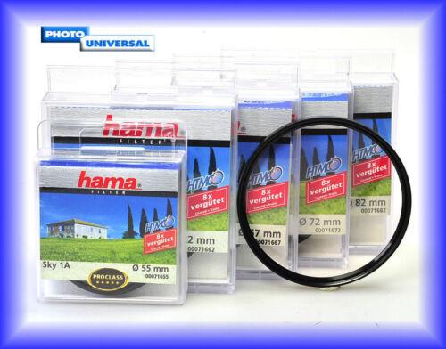 Hama Sky//claraboyas filtro htmc 1a 52 mm 71652 Artículo nuevo