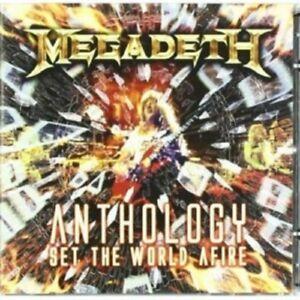 Megadeth-Anthology-Set-the-World-afire-2-CD-35-tracce-thrash-metal-nuovo