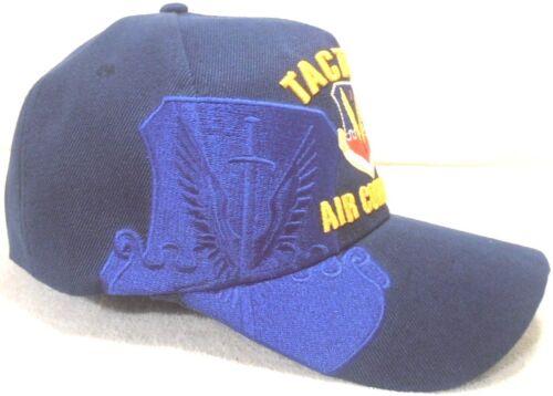 MILITARY CAP AIR FORCE TACTICAL AIR COMMAND TAC NAVYBLUE HAT