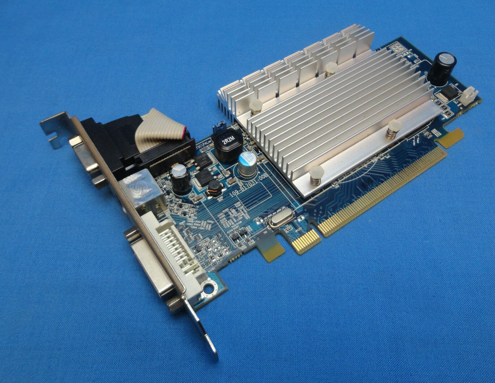 Sapphire HD2400 PRO 188-04E40-0H2SA 256MB PCI-E Graphics Card with DVI/VGA