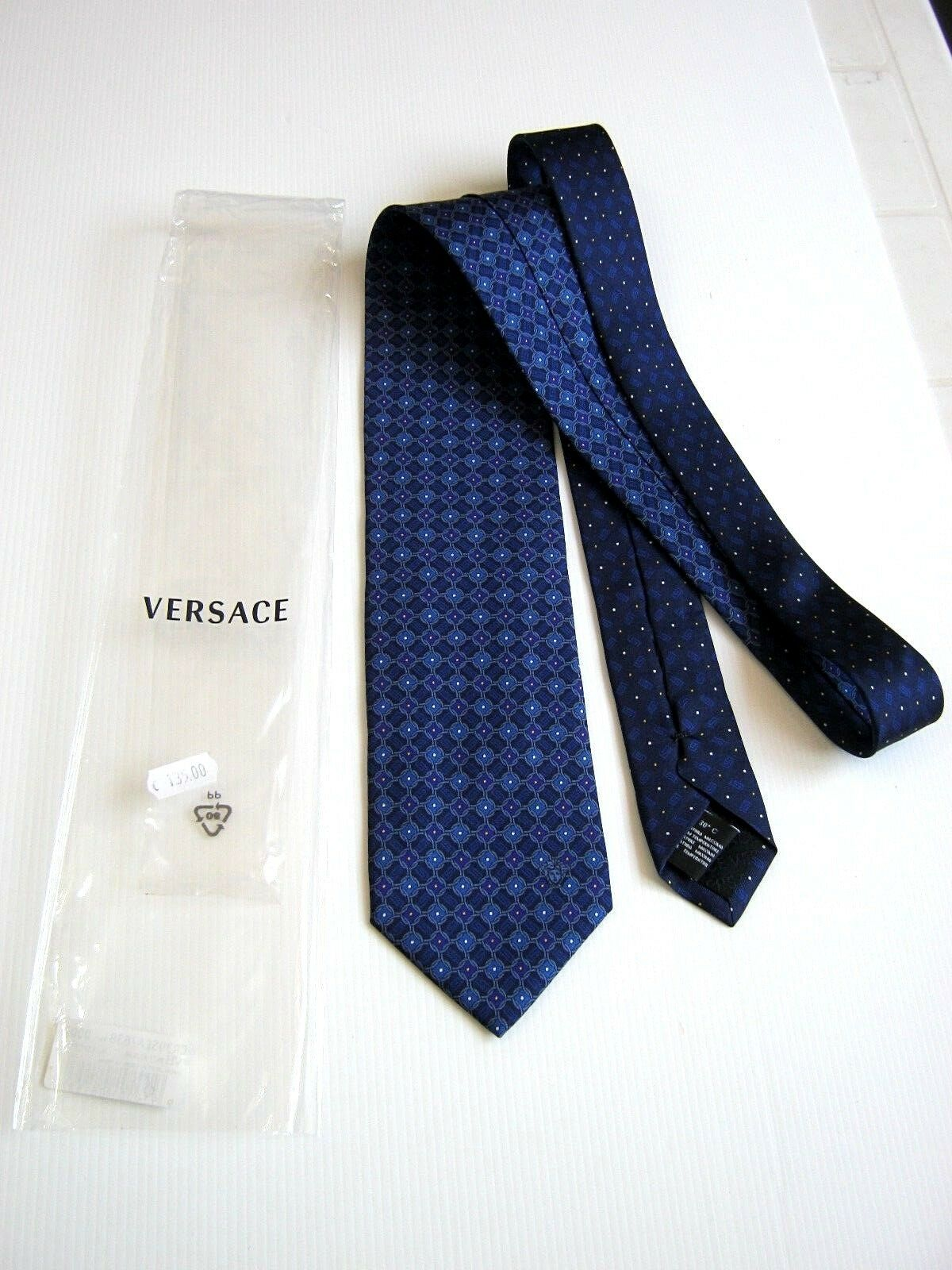 VERSACE NUOVA NEW MADE IN ITALY Originale SETA SILK IDEA REGALO