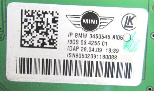 Genuine Used MINI Interior Light /& Roof Operating Unit for R57 /& LCI 3450545
