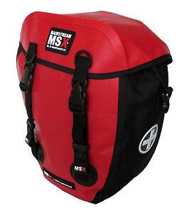 1-Fahrradtasche-Frontroller-Mainstream-MSX-CX-12-5-Liter-Rot-100-Wasserdicht