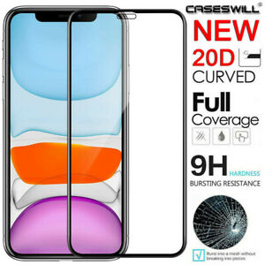 For-iPhone-11-Pro-X-XS-Max-XR-20D-Curved-Tempered-Glass-Full-Screen-Protector