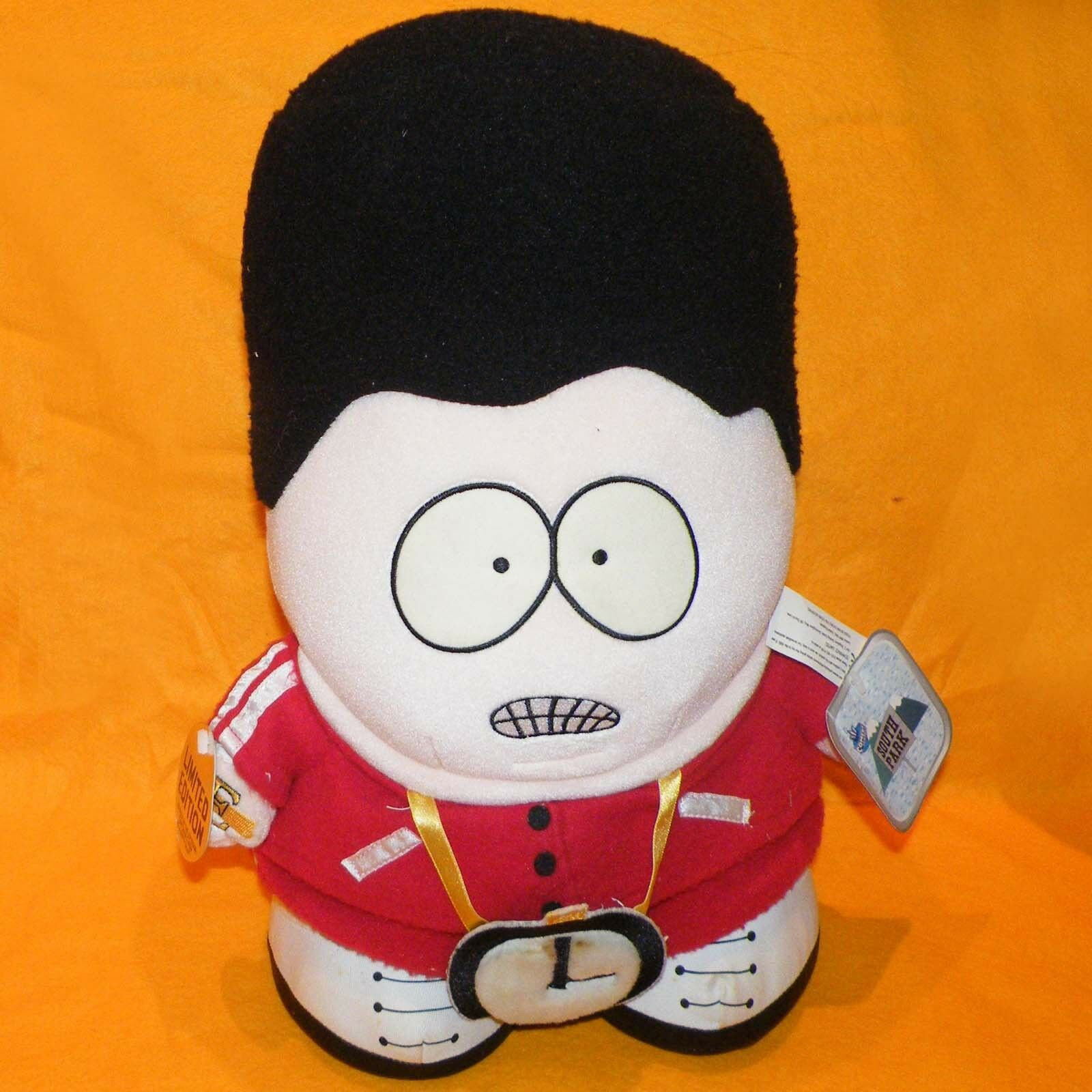 1998 COMEDY CENTRAL SOUTH PARK 15  HIP HOP ERIC CARTMAN PLUSH SOFT TOY RARE LTD
