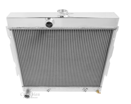 """22/"""" Wide Core 1963 1964 1965 1966 1967-1969 Plymouth Fury 3 Row DR Radiator"""