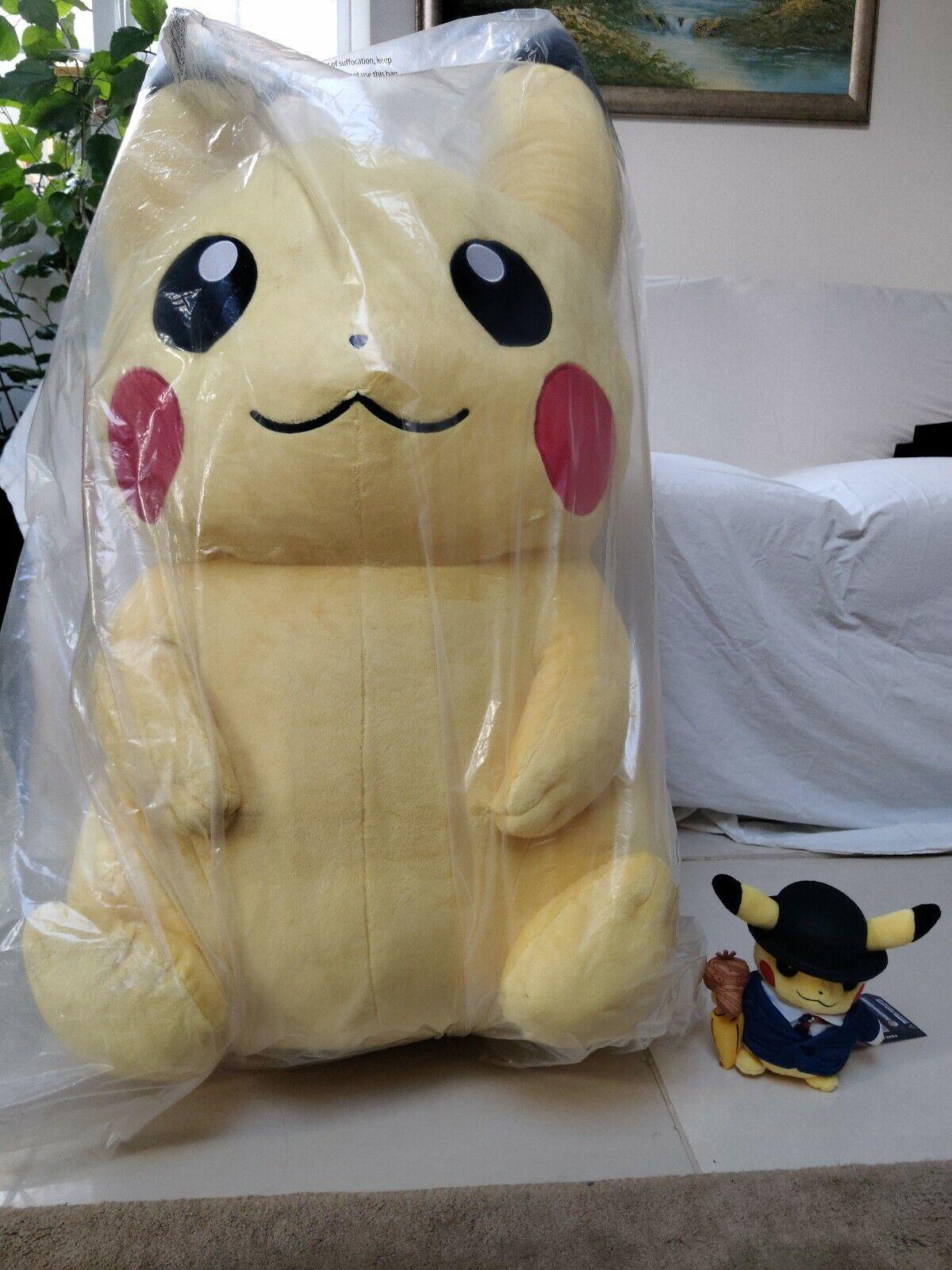 Officiell Pok lila 65533;Mon Center London - Pok 65533;65533;; Plush mbo Pikachu