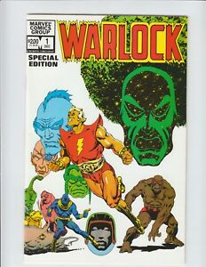 Warlock-Special-Edition-Comic-Book-1-amp-2-1982-NM-9-4-9-6