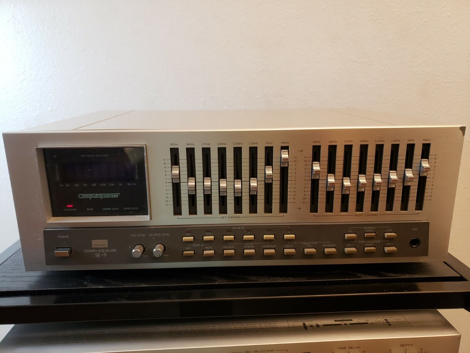 Sansui SE-9 Graphic Equalizer. Buy it now for 375.00