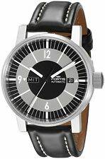 Fortis Men's 623.10.38 SI.01 Spacematic Classic Black Automatic Silicone Watch