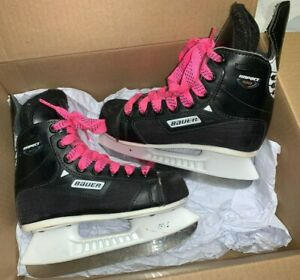 Bauer-Impact-100-Youth-Ice-Hockey-Skates-Size-USY-13R