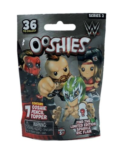 Blind Bag NEW Limited Edition To Find! Rare Ooshies WWE Series 2 Common