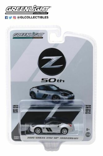 A.S.S NEU GreenLight 1//64 Nissan 370Z 50th Silber Anniversary Collection 2020