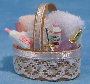 Objectif 1:12 Échelle Rose Accessoires Salle Ensemble Tumdee Poupées Miniature Maquillage Couleurs Harmonieuses
