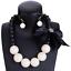Fashion-Jewelry-Crystal-Choker-Chunky-Statement-Bib-Pendant-Women-Necklace-Chain miniature 88