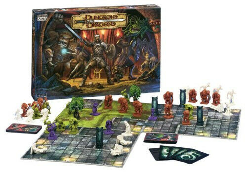 Dungeons and Dragons The Fantasy Adventure Board Game By Parker 2003 Hasbro