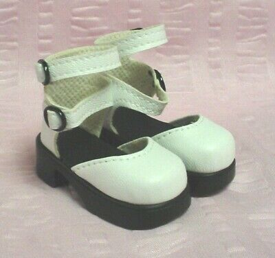 64mm LIGHT BLUE Slip ons fit MSD BJDs Kish 4 seasons Kay Wiggs Layla Doll Shoes