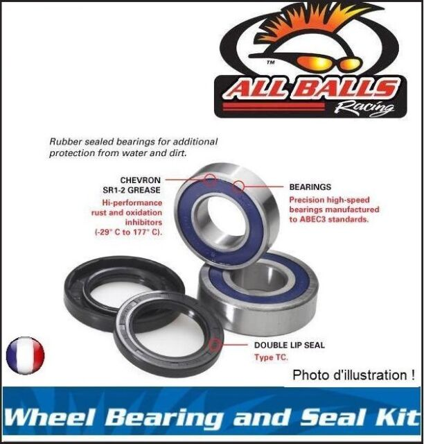 Kit Roulements & Spy De Roue Avant All Balls 25-1395 Polaris SCRAMBLER 90 01-11