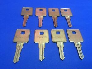Details about 1 Trimark Letters B-C-D-E-F-H-J or K Key (Code on Cyclinder)  Keys RV Motorhome