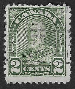 CANADA 1930 - 1931  King George V 2c  (HBX)
