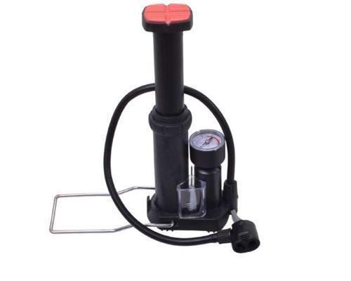 Producteur pompe à air Compact Stand Pompe Vélo Pompe Pompe à pied avec manomètre 45132