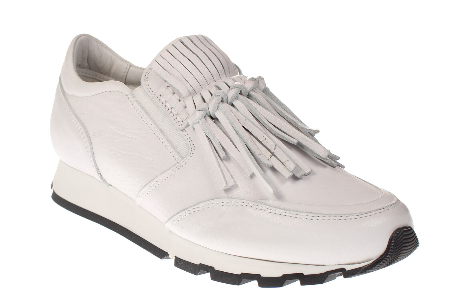 Maca Kitzbühel 2205 - Damen Schuhe Freizeitschuhe Slipper - white-uni