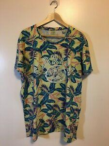 f0c69c21 SCOTCH & SODA Hawaiian Shirt Floral College The Sunny State FLORIDA ...