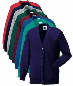 garcon-fille-Ecole-Enfants-enfants-violet-vert-rouge-gris-bleu-cardigan
