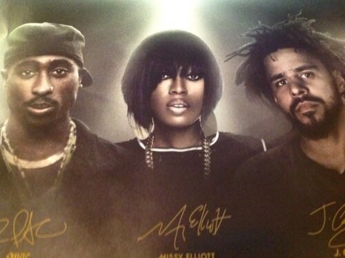 J Cole New Poster Sprite Sip On Some Inspiration 2Pac Missy Elliott