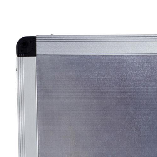 VIZ-PRO Whiteboard magnetisch mit Alurahmen