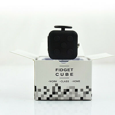 2017 Fidget Cube Desk Toy Children Desk Toys Adults Stress Relief Cubes ADHD Hot
