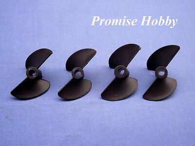 2 Blatt Propeller Propellersatz 38 40 45 47mm p40 für elektrische Nitro rc Boot