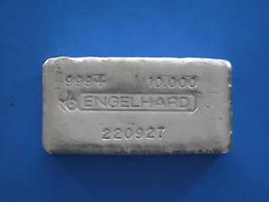 Engelhard-10oz-Silver-Bullion-Bar-Early-Pour-Style-Horns-Logo-220927