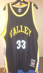 uk availability b54e1 4af7d Details about Springs Valley High School Legends Collection Black Larry  Bird #33 3XL Jersey