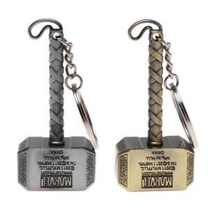 Avenger-League-Vintage-Thor-Hammer-Keychains-Key-Rings-for-Men-US-Captain-Best