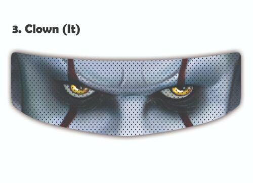 skin Motorcycle helmet visor preforated sticker helmet glass  protector