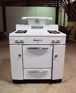 Image Is Loading Vintage Hardwick Gas Oven Stove Kitchen Liance 1940s