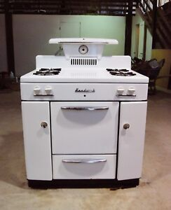 vintage hardwick gas oven stove kitchen appliance 1940s/50's used