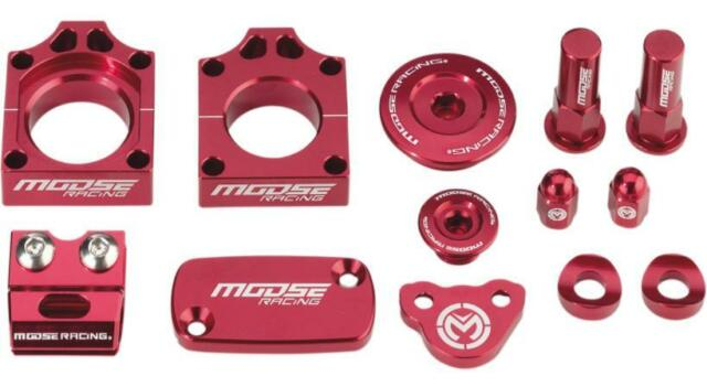 Moose Racing - XF-2-1231-0898 - Bling Pack, Red Honda CRF250/450R CRF250X